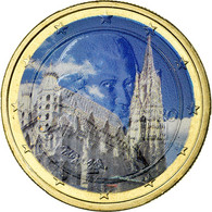 Autriche, Cathédrale Vienne, Euro, 2010, Colorised, SUP, Bi-Metallic, KM:3142 - Autriche