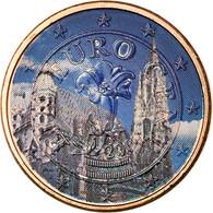 Autriche, Cathédrale Vienne, Euro Cent, 2009, Colorised, SUP, Copper Plated - Autriche