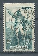 France YT N°314 Rouget De Lisle Oblitéré ° - Used Stamps