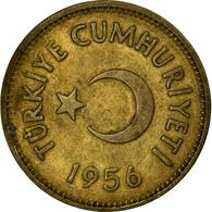Monnaie, Turquie, 25 Kurus, 1956, TB+, Laiton, KM:886 - Turquie