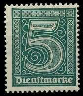DEUTSCHES REICH DIENSTMARKEN 1920 Nr 23 Postfrisch X063FB2 - Dienstpost