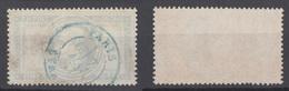 FRANCIA 1869 N°33 OBL. Napoléon III Con Alloro - 1863-1870 Napoléon III Lauré
