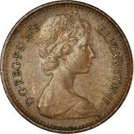 Monnaie, Grande-Bretagne, Elizabeth II, 1/2 New Penny, 1975, TTB, Bronze, KM:914 - 1971-… : Monnaies Décimales
