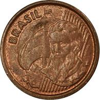 Monnaie, Brésil, Centavo, 2003, TTB, Copper Plated Steel, KM:647 - Brésil