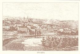 (A436) - OVADA (Alessandria) - Disegno Dell'antico Paese - Alessandria