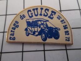 816c Pin's Pins / Beau Et Rare / THEME : AUTOMOBILES / VIEUX TACOT GARAGE DE GUISE - Autres