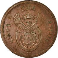 Monnaie, Afrique Du Sud, 5 Cents, 2004, TTB, Copper Plated Steel, KM:325 - Afrique Du Sud