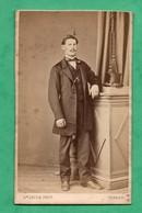 Photographie D' Epoque Napoleon IIi             Par Lecoq Photographe à Vernon  ( Format CDV 6cm X 10cm ) - Old (before 1900)