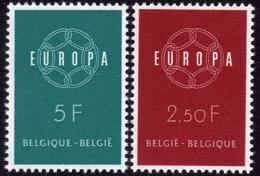 Belgique - Europa CEPT 1959 - Yvert Nr. 1111/1112 - Michel Nr. 1164/1165  ** - 1959