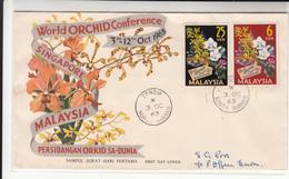 Malaysia / North Borneo / Orchids - Malesia (1964-...)