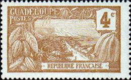 Guadeloupe Poste N* Yv: 57 Mi:54 Mont Houelmont Basse-Terre (avec Charnière) - Guadeloupe (1884-1947)
