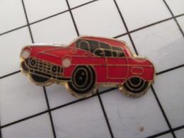 816c Pin's Pins / Beau Et Rare / THEME : AUTRES / AUTOMOBILE ROUGE MARQUE INCONNUE - Autres