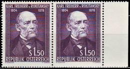 ** Austria - 1954 - Mi. 997 - Von Rokitanky - 1945-60 Ungebraucht