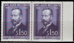 ** Austria - 1954 - Mi. 1006 - Baron Of Welsbach - 1945-60 Ungebraucht