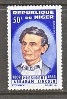 NIGER   151     *    ABE  LINCOLN - Célébrités