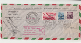 Trieste / Italy / Helicopter Mail / Airmail / San Marino - Non Classés