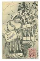 CPA LES VINS DE FRANCE CHAMPAGNE - Vigne