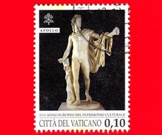 VATICANO - Usato - 2018 - Anno Europeo Del Patrimonio Culturale - Apollo Del Belvedere - 0.10 - Vaticano