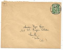 GANDON 5FR VERT N°719 SEUL LETTRE  NANCY RP 1.1.1947 PREMIER JOUR DU TARF - 1945-54 Marianne De Gandon