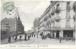 BELFORT : LE BOULEVARD CARNOT - Belfort - City