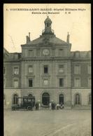 St Mandé 94 Vincennes Hopital Militaire Bégin Entrée Des Malades SM 2 Animée Automobile Ambulance 1918 - Saint Mande