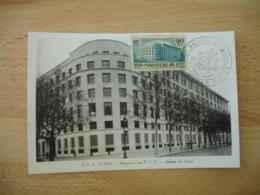 1945 Orphelins  P T T  Timbre Ministere P T T  C M Carte Maximum Cm - 1940-49