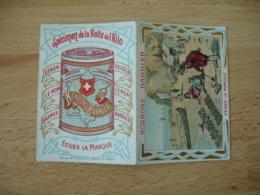 1905  Bonbons Barnier Chromo Etretat  Calendrier Calendrier - Calendriers