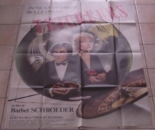 AFFICHE CINEMA ORIGINALE FILM LES TRICHEURS Barbet SCHROEDER Jacques DUTRONC Bulle OGIER 1984 TBE TB DESSIN - Posters