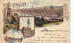 1139/ Ricordo Di Firenze, 1900, Litho - Firenze (Florence)