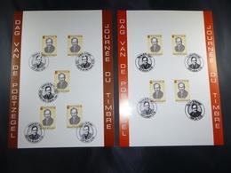 "BELG.1995 2596 FILATELIST CARDS WITH FIRST DAY STAMPS : ""  Dag Van De Postzegel / Journée Du Timbre "" - FDC"