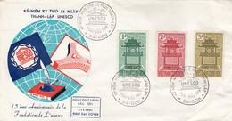 VIET-NAM FDC UNESCO 1961 - Vietnam