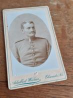 MANN IN DEUTSCHLAND DAZUMAL - MUENCHEN - ADALBERT WERNER - SCHNEIDIGER OFFIZIER - Krieg, Militär