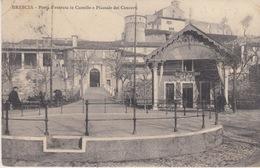BRESCIA - PORTA D'ENTRATA IN CASTELLO E PIAZZALE DEI CONCERTI - VIAGGIATA - Brescia