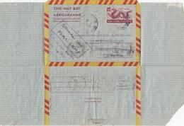 VIET-NAM AEROGRAMME 1961. SAIGON POUR FORT-LAMY TCHAD - Vietnam