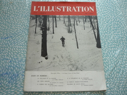 France Illustration N° 5107 25 Janvier 1941 Paris Sports D'hiver : Le Ski Dans Le Parc De Saint-Cloud... - 1900 - 1949