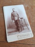 MANN IN DEUTSCHLAND DAZUMAL - MUENCHEN - SAMSON & CO - OFFIZIER IN POSE - Krieg, Militär