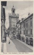 BRESCIA - CORSO GARIBALDI E TORRE DELLA PALLATA - VIAGGIATA 1949 - Brescia