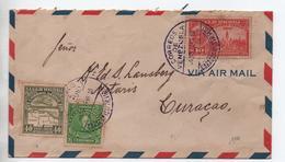 VENEZUELA - 1939 - ENVELOPPE De CARACAS Pour CURACAO - Venezuela
