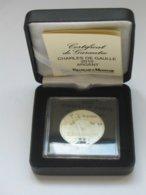 Médaille En Argent CHARLES DE GAULLE 1890-1970   ***** EN ACHAT IMMEDIAT **** - Adel