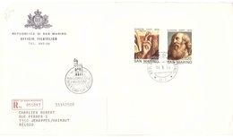 RACCOMANDATA FDC EUROPA 1975 - Lettres & Documents