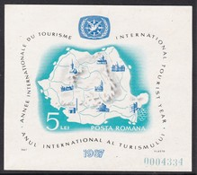 BLOC NEUF DE ROUMANIE - ANNEE INTERNATIONALE DU TOURISME N° Y&T 64 - Vacanze & Turismo