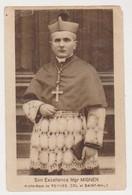27603 Son Exellence Monseigneur MIGNEN Archeveque RENNES DOL SAINT MALO 35 FRANCE  Image Pieuse  Blason - Images Religieuses