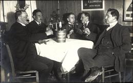 Cp Gera In Thüringen, Männerrunde, Champagner Château-Salins - Allemagne