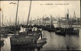 Cp Treboul Finistère, Boote Im Hafen - Altri Comuni