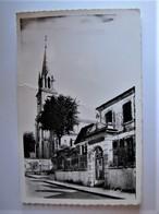 FRANCE - LANDES - HAGETMAU - L'Ecole De Filles Et L'Eglise - Hagetmau