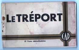Carnet 12 Vues Détachables Du Tréport - Le Treport