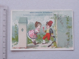 CARPENTRAS  CHROMO Berlingot EYSSERIC: ENFANT Ivresse Alcoolisme Querelle Demoiselle Couple Alcool - COURBE-ROUZET - Chromos