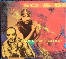 """SO & BI - """" çal'fait Grav' """" - 16  Titres . - Rap & Hip Hop"""