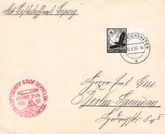 DEUTSCHES REICH - LUFTPOST 100 PF 1936 FRIEDRICHSHAFEN - BERLIN-SPANDAU /ak821 - Posta Aerea