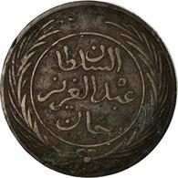 Monnaie, Tunisie, TUNIS, Sultan Abdul Aziz With Muhammad Al-Sadiq Bey, 8 Kharub - Tunisie